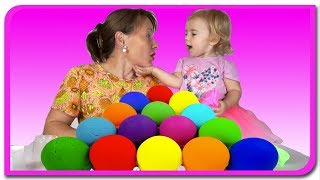 Culorile. Sa Invatam culorile in limba romana cu Plastilina colorata  Anabella Show