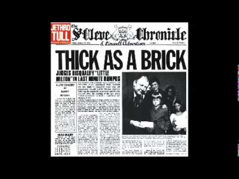 Jethro Tull - Thick As A Brick (Best Albums Of 1972 #9)