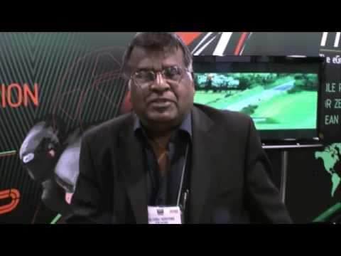 KTM & SEMA representatives & TTX02 Electric Motorcycle