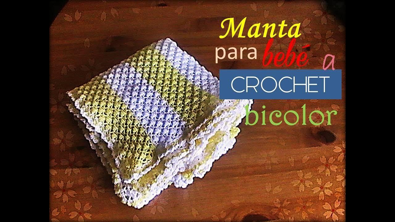 Famoso Patrones De Ganchillo Para Mantas De Bebé Libres Colección ...