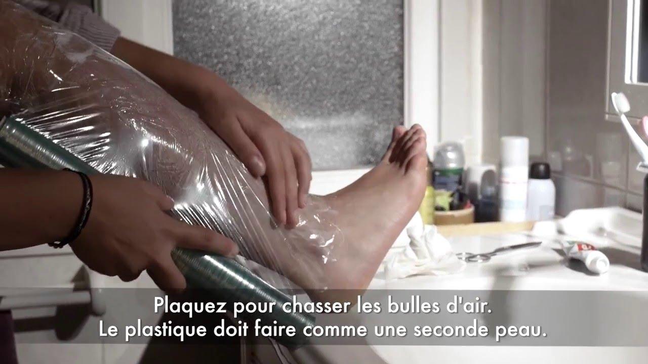 Epilation Definitive - Crème anesthésiante sur les jambes ...