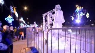 Снежные фигуры Красноярск