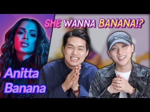 K-pop Artist Reaction Anitta With Becky G - Banana