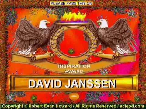 David Janssen inspiration award