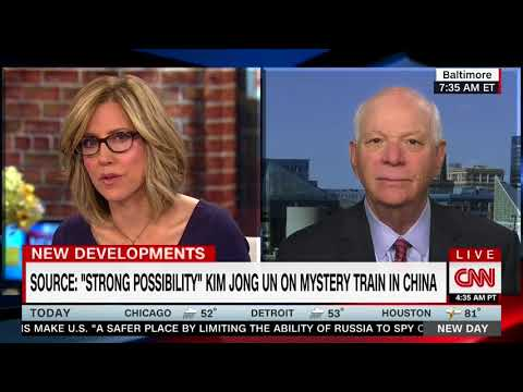 BEN CARDIN FULL INTERVIEW WITH ALISYN CAMEROTA - NEW DAY (3/27/2018)