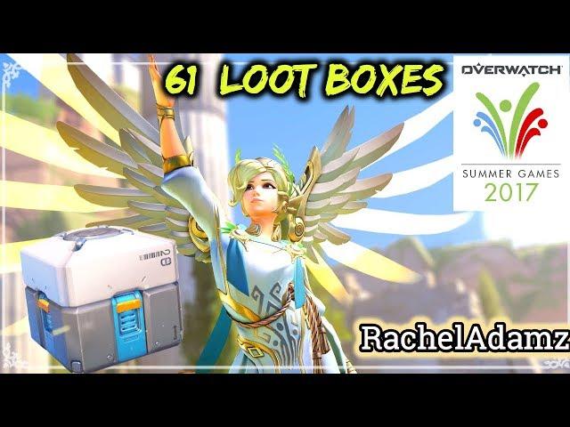61 Summer Games Loot Box Opening/Unboxing!   RachelAdamz  