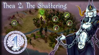 A Broken World – Thea 2: The Shattering Gameplay – [Stream VOD] Part 1