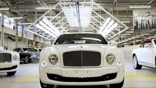 Bentley Mulsanne (2014) PRODUCTION