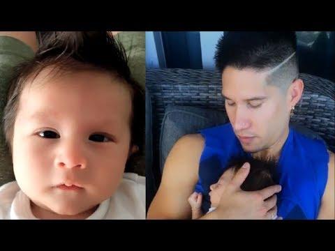 Chyno Miranda Cuida El Sueño De Su Hijo Lucca