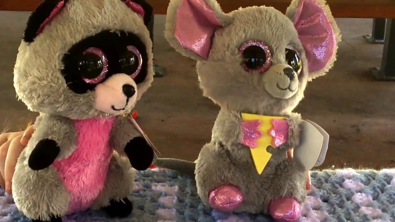 A Beanie Boo Play - Starring Rocco the Racoon and Squeaker the Mouse ... 2a1c6853cd2