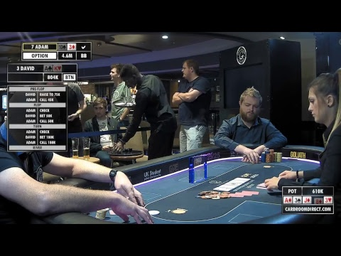 GUKPT 2018 Leeds Day 3 Live Stream