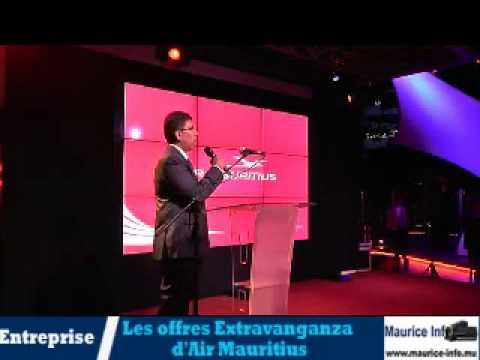 Air Mauritius présente son Extravaganza