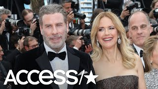 """Kelly preston stopped by """"watch what happens live with andy cohen"""" monday night where she opened up about first meeting her now-husband john travolta. plus, ..."""
