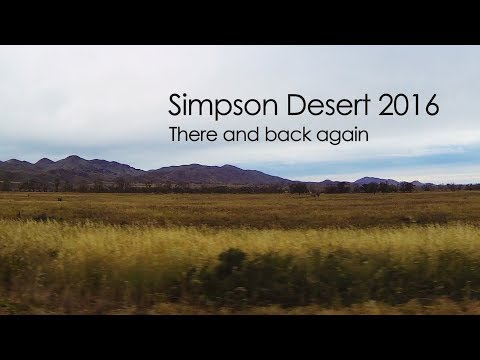 Simpson Desert 2016 - There and back again