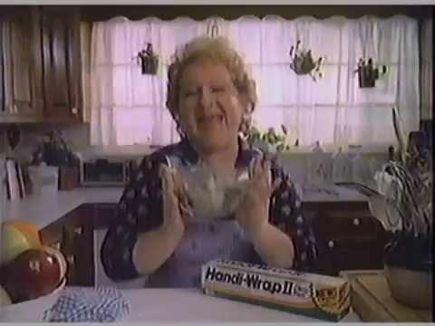 1983 HandiWrap II Commercial with Estelle Harris