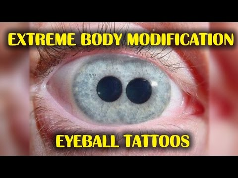 EYEBALL TATTOOS ► What These People Did To Their Face Is Incredibly Shocking