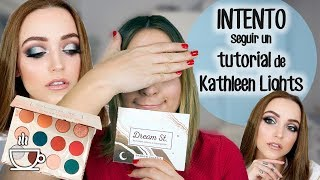 INTENTO seguir un TUTORIAL de KATHLEEN LIGHTS - Dream St de Colourpop