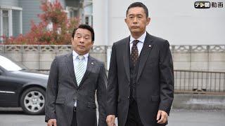 隅田川にかかる蔵前橋付近で、ジョギングウエア姿の不動産会社社長・荒...
