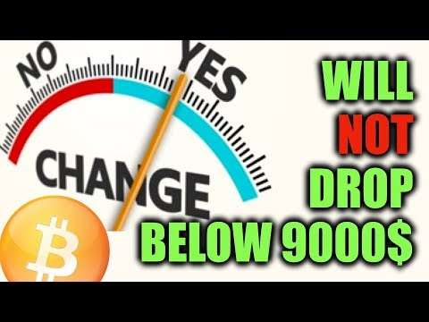 Bitcoin Will NOT Drop Below 9000$ – more Proofs (on-chain).