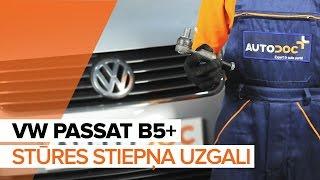 Kā nomainīt stūres stiepņa uzgali VW PASSAT B5+ [PAMĀCĪBA]