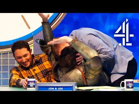 Sean Bean Receives Bad Reviews And Gets A Passionate Kiss | 8 Out Of 10 Cats Does Countdown