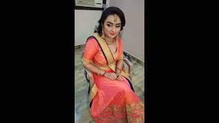#Engagement Bride Makeup #GVM #Clips_during_makeup