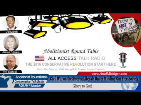 Civil War on the Streets; Liberals Under Minding Our Free Society