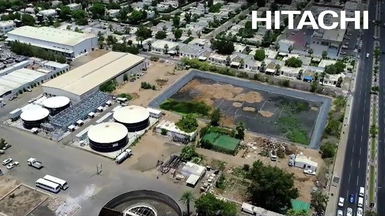 EPC of Compct Hitachi Sewage Treatment Plant in Saudia City in Jeddah -  K S A - Hitachi