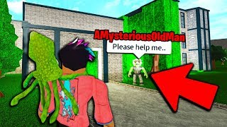 I Met AMysteriousOldMan.. HE TOLD ME MR. UMONIUM'S SECRET PLAN! (Roblox Bloxburg)