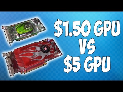 The $1.50 Graphics Card Takes on a $5 Graphics Card