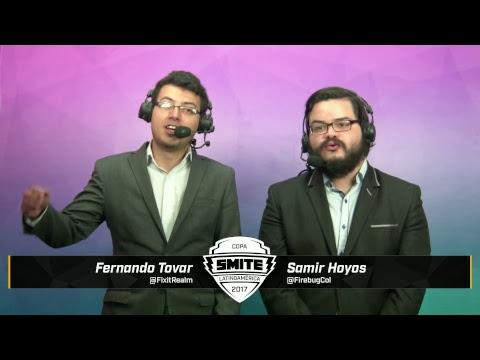 Final Regional Copa Smite Latinoamérica - Isurus Gaming vs Licht Esports