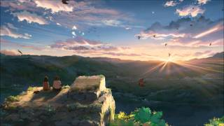 "FLCL Soundtrack 192/Kbs. This image is from Makoto Shinkai movie ""H..."