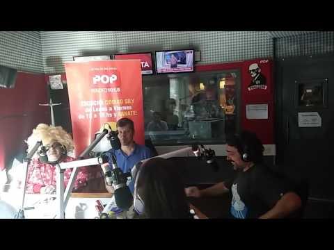 La Negra Vernaci con Mario Pergolini en #LaNegraPOP  en POP Radio 101.5