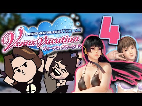 Dead or Alive Venus Vacation: That's A Swimsuit? - PART 4 - Game Grumps