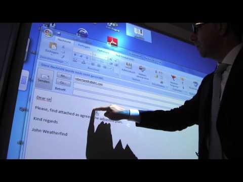 Bureau moderne interaktive tafeln youtube
