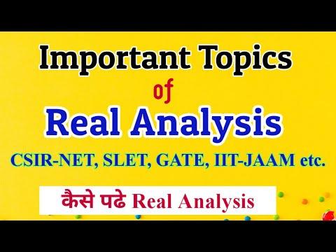 Important Topics-CSIR NET Mathematics|csir net syllabus mathematics