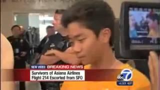 アシアナ航空 事故 搭乗者へのインタビューを警察が阻止する