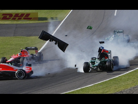 Manor (Marussia) All Crashes in F1