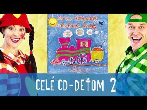 CELÉ CD - DEŤOM 2 - Mária Podhradská a Richard Čanaky