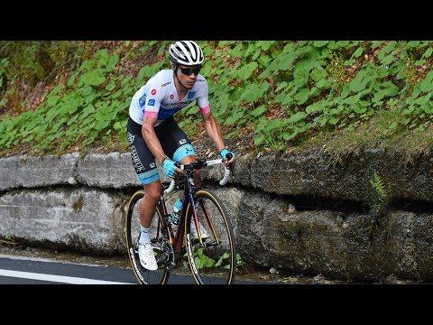 Miguel Ángel SUPERMAN lópez atacó y voló  Etapa 18 Giro de italia