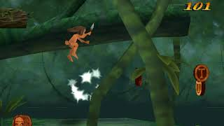 Tarzan Action Game Nederlands Walkthrough - Level 2 (Apenkuren)