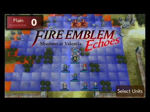 Citra Emulator 0.1.281 - Fire Emblem Echoes: Shadows of Valentia [Japanese] (ISSUES) Nintendo 3DS - 동영상