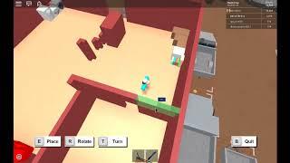 Roblox: Lumber Tycoon 2 | Edifício chato EP. 6: quarto e banheiro exterior.