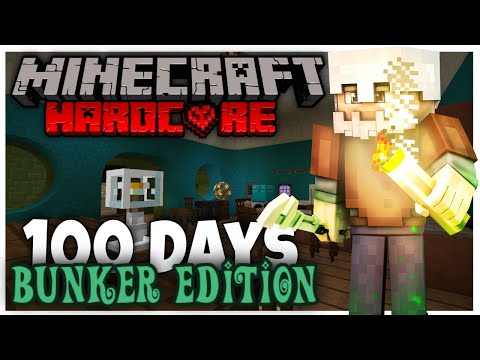 100 Days: Fallout Bunker Edition (Hardcore | Minecraft | Roleplay)