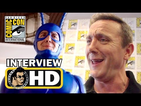 THE TICK Exclusive Peter Serafinowicz & Cast Interviews - #SDCC 2017