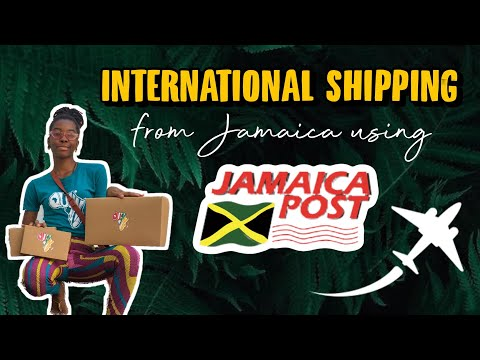 How To Ship Globally from Jamaica using Jamaica Post 🇯🇲 — International Shipping 101