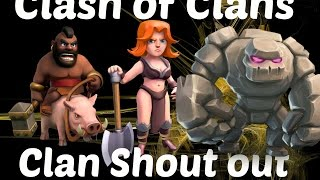 Clash of clans Shout out to masters of 42