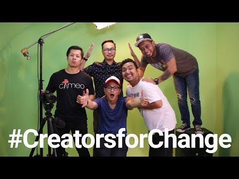 Download Youtube: YouTube Creators for Change: Cameo Project