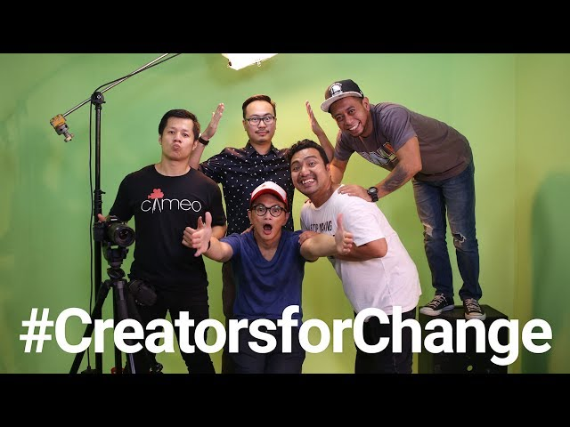 The VisualizED YouTube Creators for Change: Cameo Project Youtube Videos