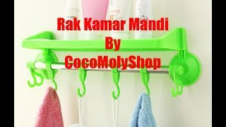 Video Rak Kamar Mandi By CocoMolyShop download MP3, 3GP, MP4, WEBM, AVI, FLV Oktober 2018